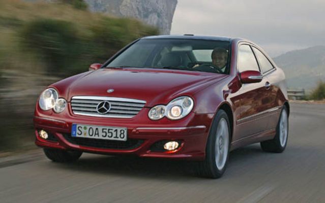 Mercedes-Benz Classe C coupe 2005