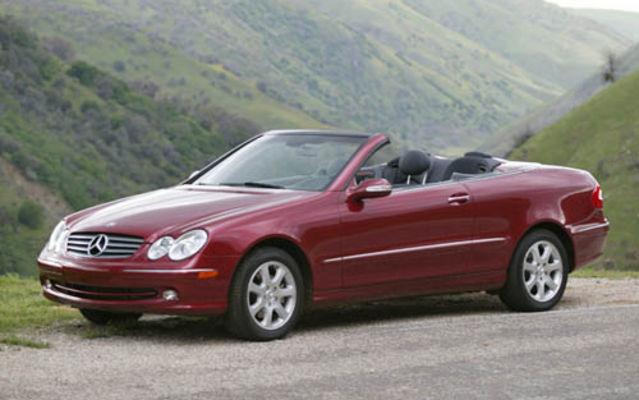 Mercedes-Benz Classe CLK cabrio 2005