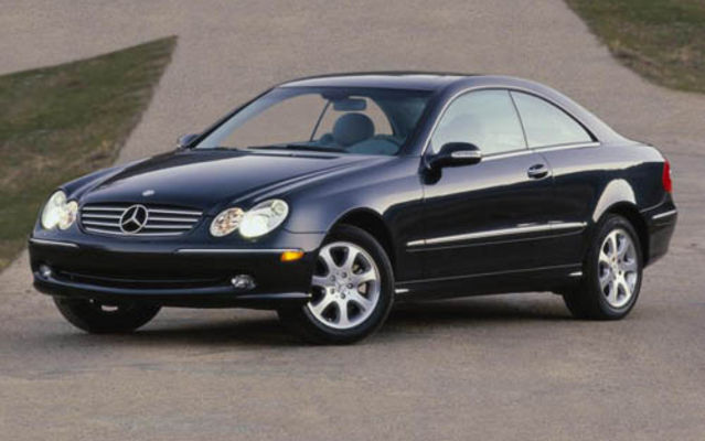 Mercedes-Benz CLK coupe 2005