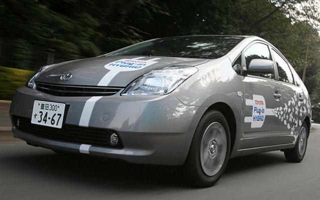 Toyota Prius à batteries rechargeables