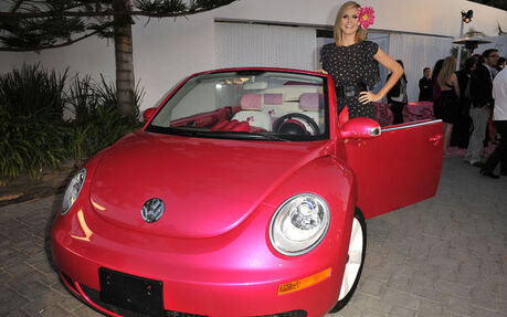 Vw New Beetle Cabrio Rose Destinee A Barbie Picture Gallery