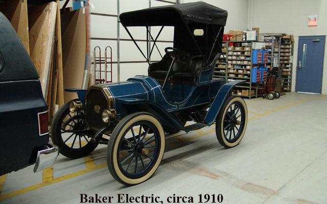 Baker Electric circa 1910. Musée Sciences et Technologie Ottawa.