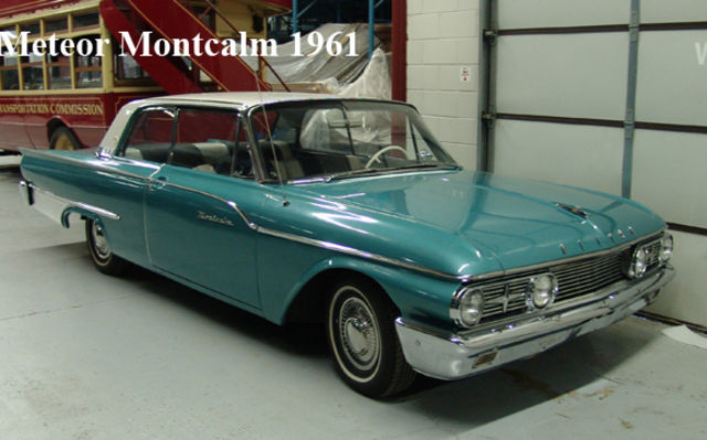 Meteor Montcalm 1961. Musée Sciences et Technologie Ottawa.