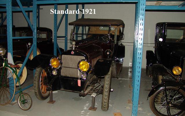 Standard 1921. Musée Sciences et Technologie Ottawa.