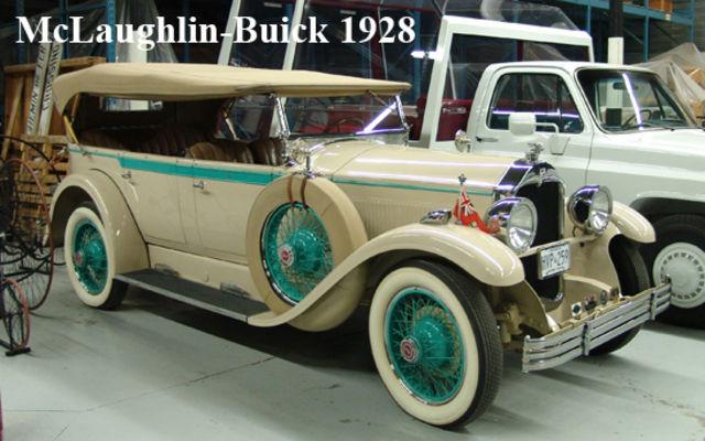 McLaughlin-Buick Royale 1928. Musée Sciences et Technologie Ottawa.