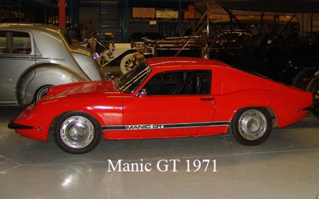 Manic GT 1971. Musée Sciences et Technologie Ottawa.