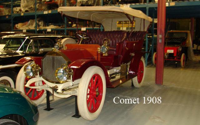Comet 1908. Musée Sciences et Technologie Ottawa.