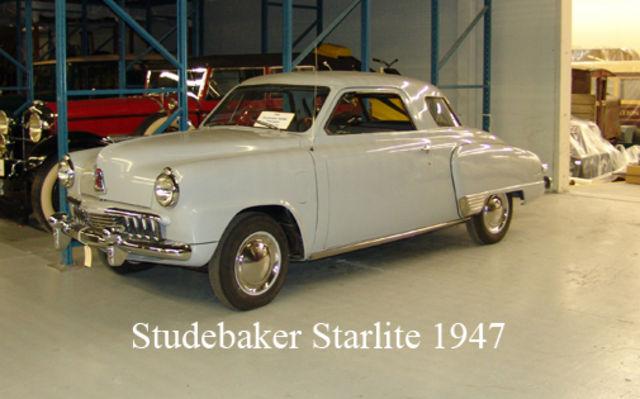 Studebaker Starlite 1947. Musée Sciences et Technologie Ottawa.