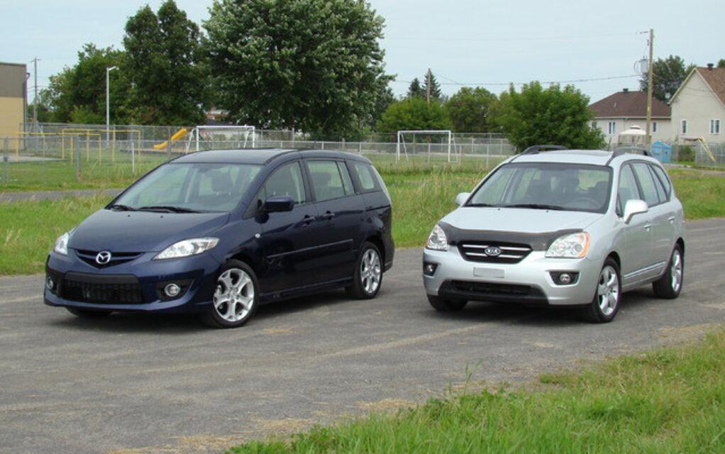 Kia Rondo Vs Mazda5 Les Mamans Se Prononcent 27 34