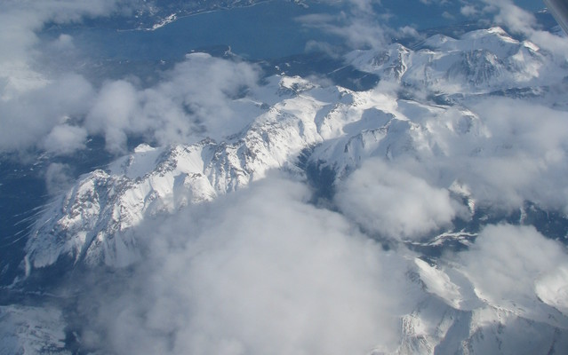 Au dessus du Yukon