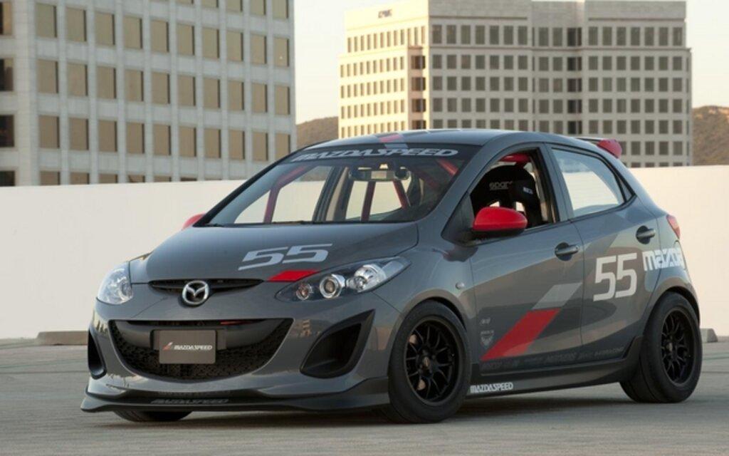 Mazda 5 Reviews >> Mazda2's Swarm SEMA - 1/8