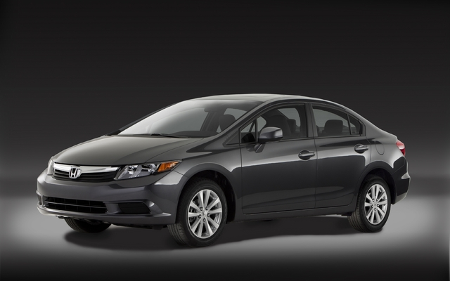 All New 2012 Honda Civic Emphasizes Style, Fuel Economy And Performance