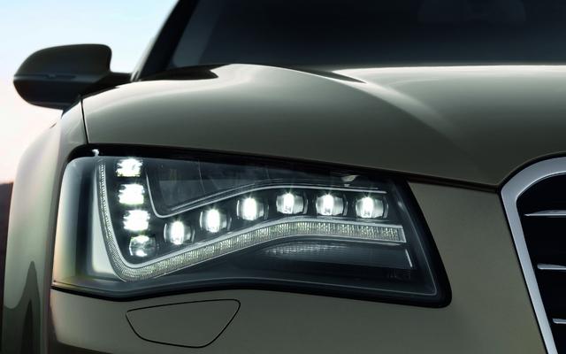 Phare LED sur la Audi A8