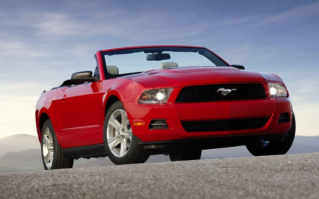 Ford Mustang cabriolet 2011