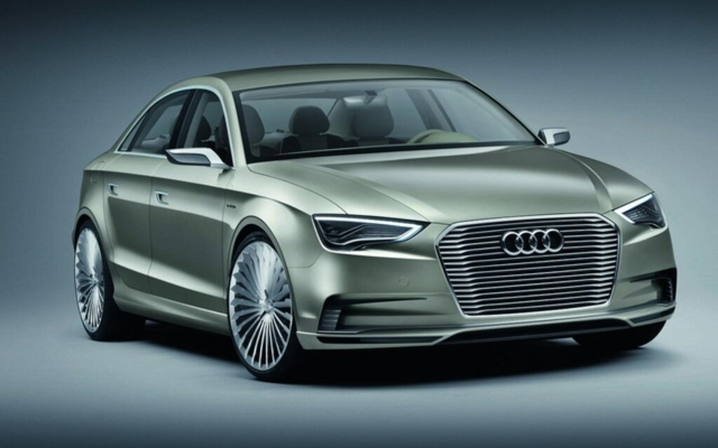 audi a3 e tron concept l hybride rechargeable guide auto. Black Bedroom Furniture Sets. Home Design Ideas
