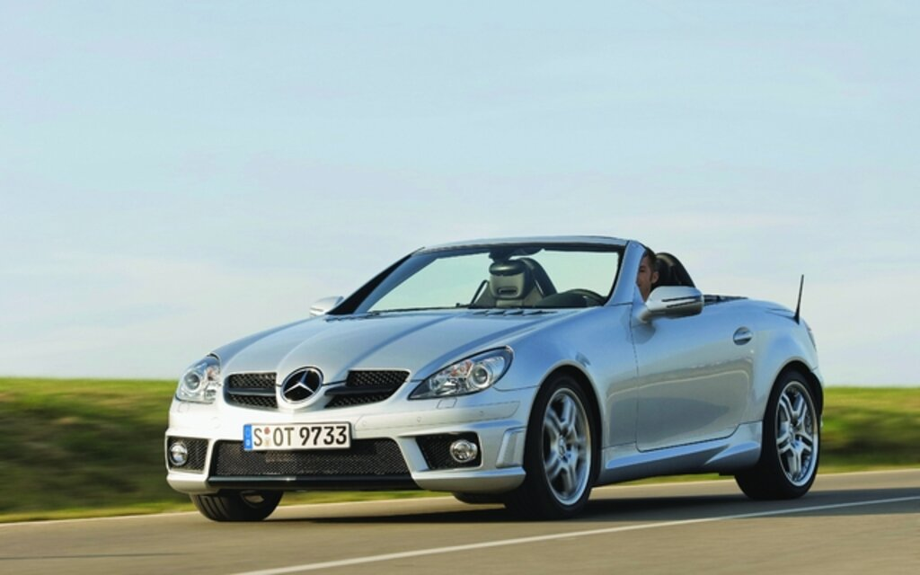 Mercedes benz classe slk 2011 la nouvelle en 2011 guide for Mercedes benz 640