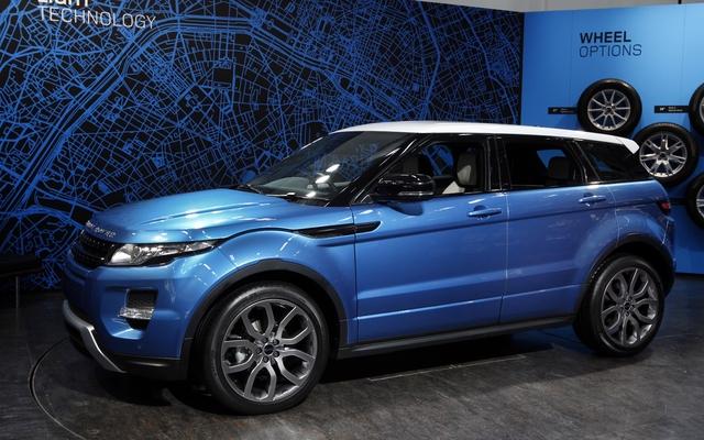 Land Rover New >> 2012 Range Rover Evoque: The new baby Rover - 8/25