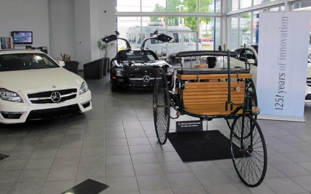 Mercedes-Benz Canada commemorates 125! years of Innovation with a ...