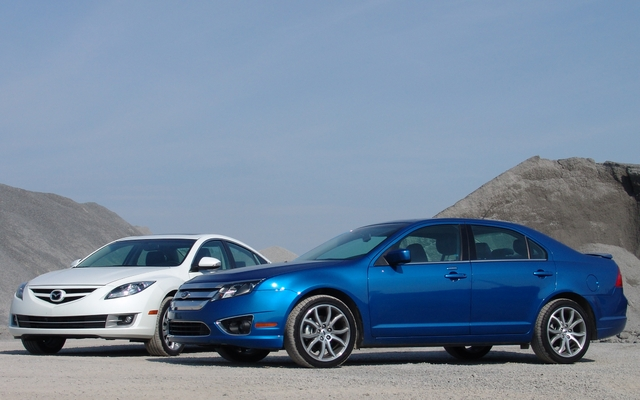 Nice Mazda6 2011 Et Ford Fusion 2011