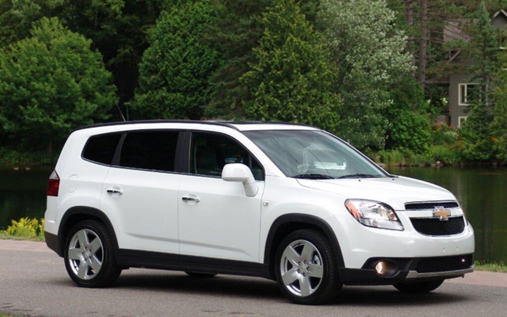 2012 Chevrolet Orlando: Upgrades And Corrections