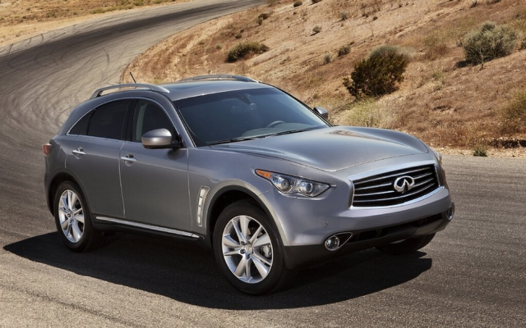 2012 Infiniti Fx Launches With Aggressive New Front End
