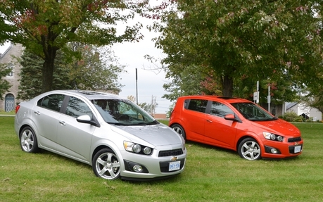 2012 Chevrolet Sonic Simple Ingredients For A Very Tasty