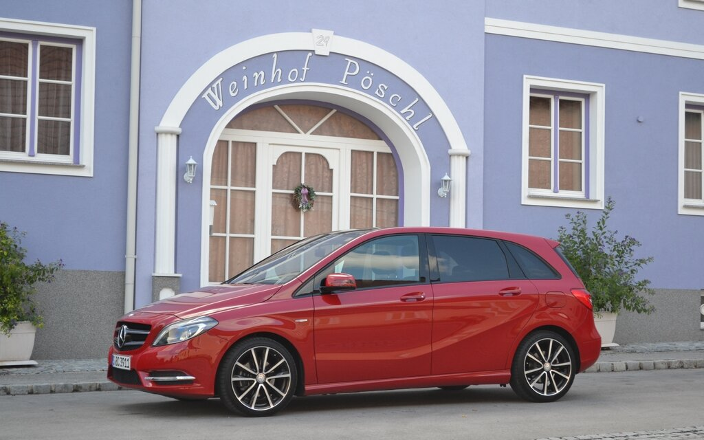 The New Mercedes Benz B Class 2013 Not Available In The Us