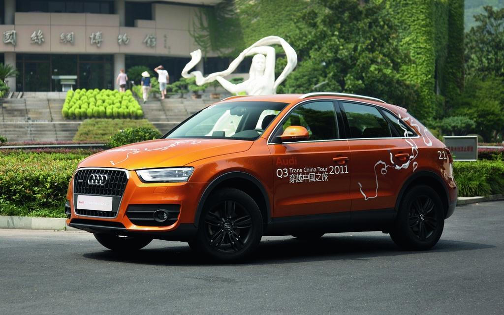 Audi Q3 Trans China Tour 2011