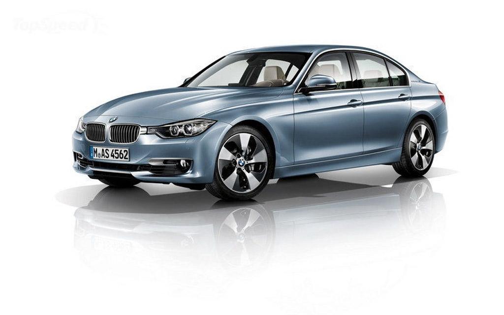BMW ActiveHybrid3 2013