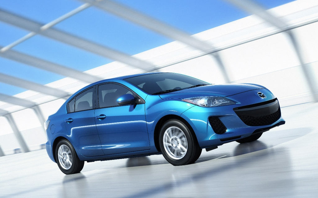 2012 Mazda3 SKYACTIV: Now With Improved Fuel Consumption And Driving  Pleasure