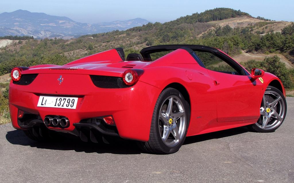 2012 Ferrari 458 Spider A Brilliant Masterstroke 5 38