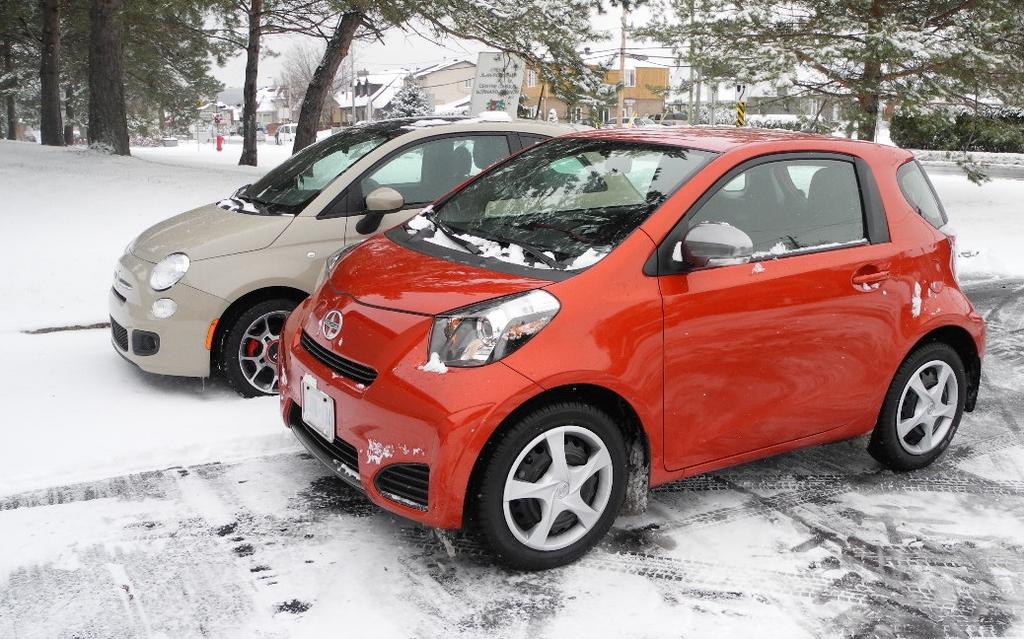 2012 Scion Iq The Scion In Winter 28 30