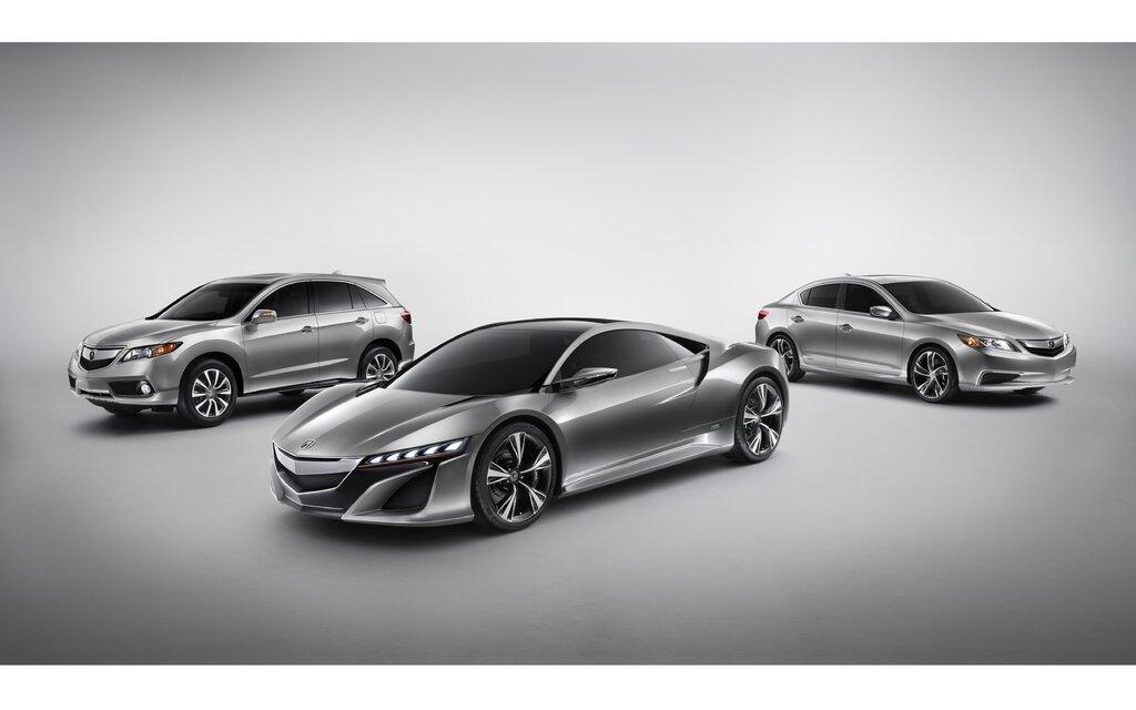 Acura Debuts Three New Vehicles At The 2012 North American