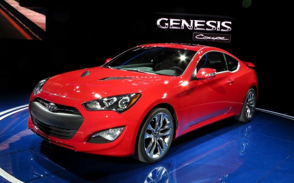 hyundai genesis coupe 2013 nouveau museau et nouveaux moteurs guide auto. Black Bedroom Furniture Sets. Home Design Ideas