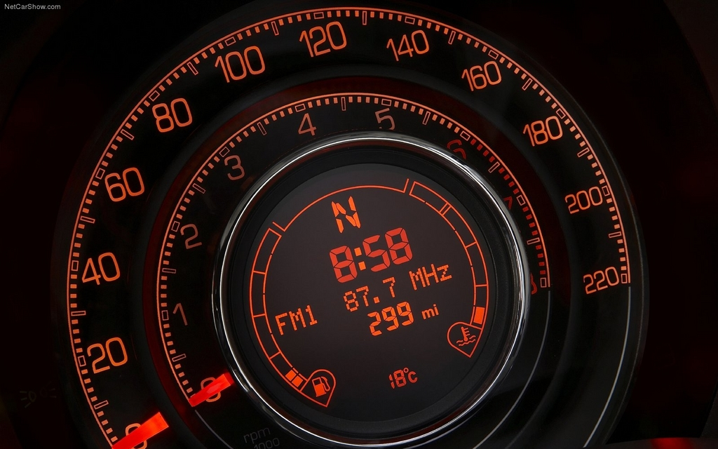 Fiat 500 Sport >> Increasingly Interesting Instrument Clusters - 8/20