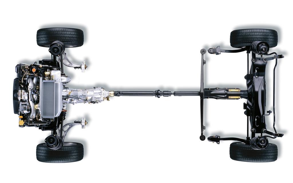 Traction intégrale Subaru