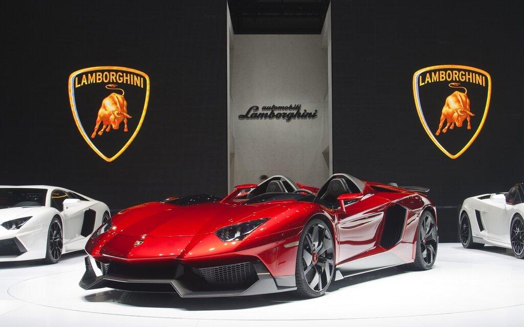 Lamborghini Aventador J Quand On Dit Unique 1 3