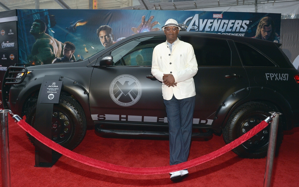 Acura Teamed With Marvel's The Avengers as Official Sponsor of Red