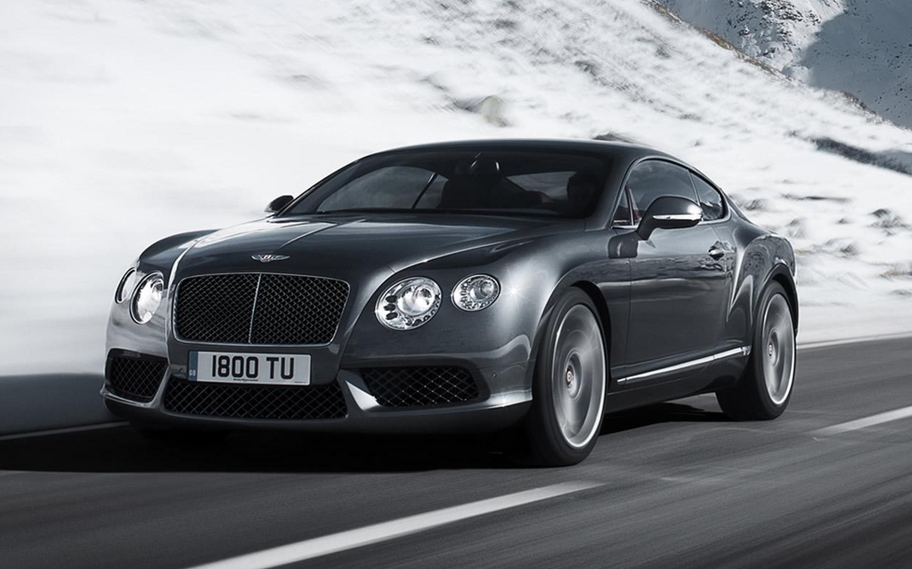 45 Real Sports Cars. Bentley Continental GT V8
