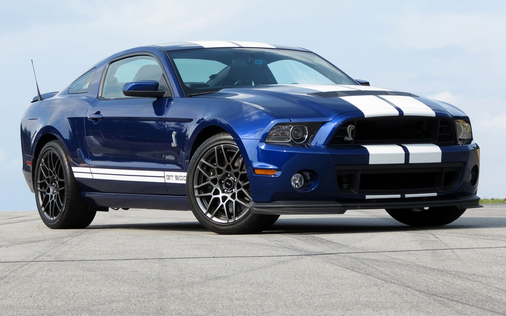 2013 ford shelby gt500: exclusive circuit, highway and quarter mile