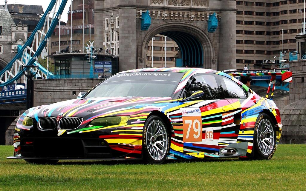 BMW M3 GT2 2010 de Jeff Koons