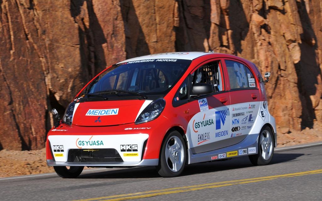 Mitsubishi i miev evolution scores an impressive 2nd place for Mitsubishi motors north america inc