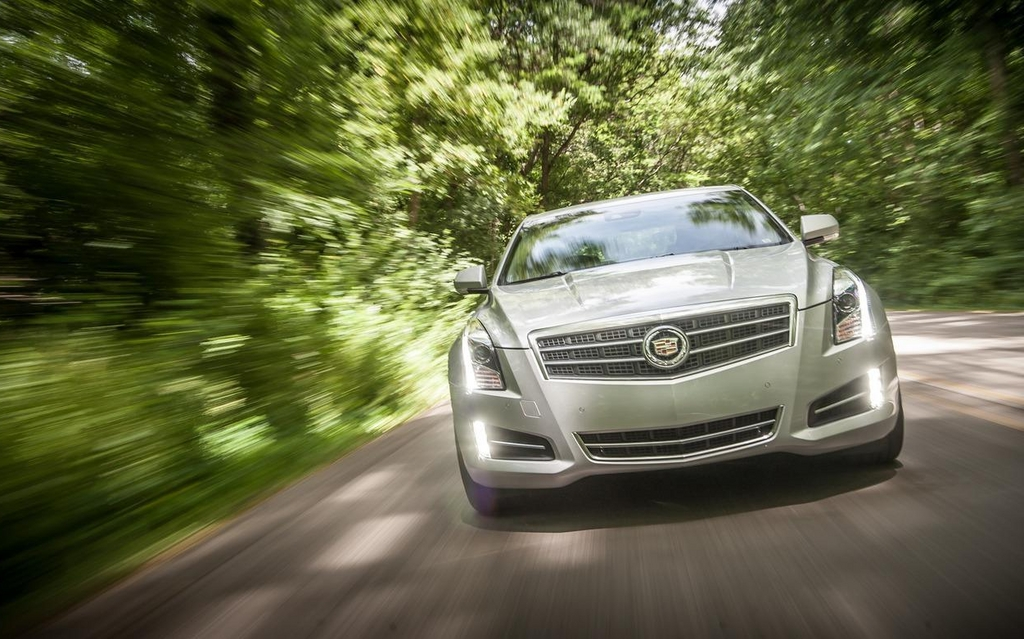 The 2013 Cadillac ATS is currently waiting out a stop-sale order.