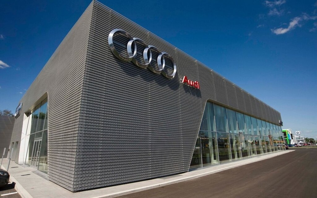 north america 39 s largest audi terminal opens in laval the car guide. Black Bedroom Furniture Sets. Home Design Ideas