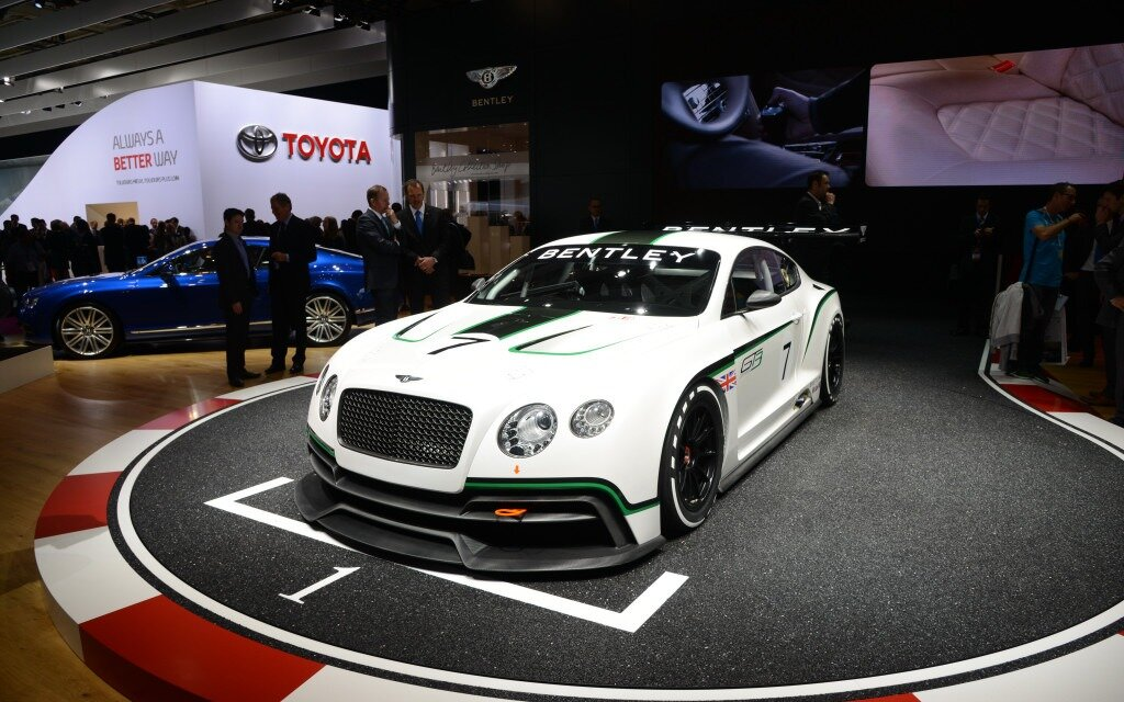 bentley continental gt3 concept le retour la comp tition guide auto. Black Bedroom Furniture Sets. Home Design Ideas