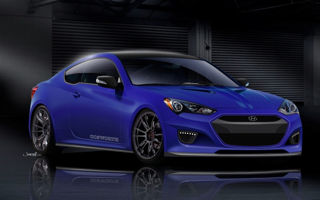 The Cosworth CGRS Concept will appear at SEMA 2012.