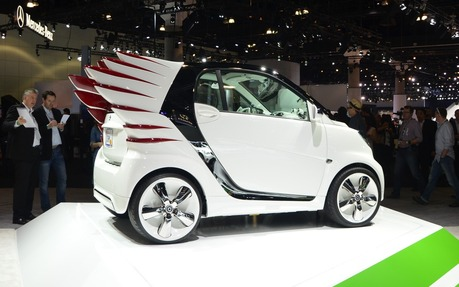 Smart Forjeremy Les Ailes Dun Ange Smart Concept 2012