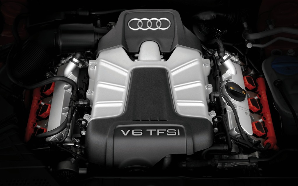 Moteur 3,0 L TFSI V6 Supercharged DOHC (Audi S5)