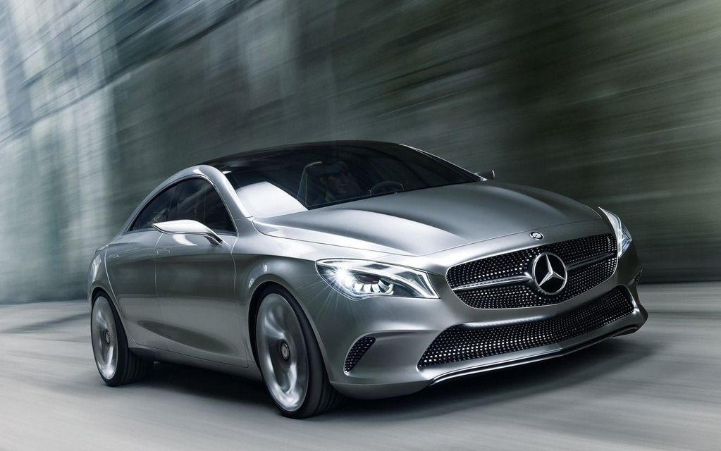 Mercedes-Benz CLA: A Compact CLS For Detroit