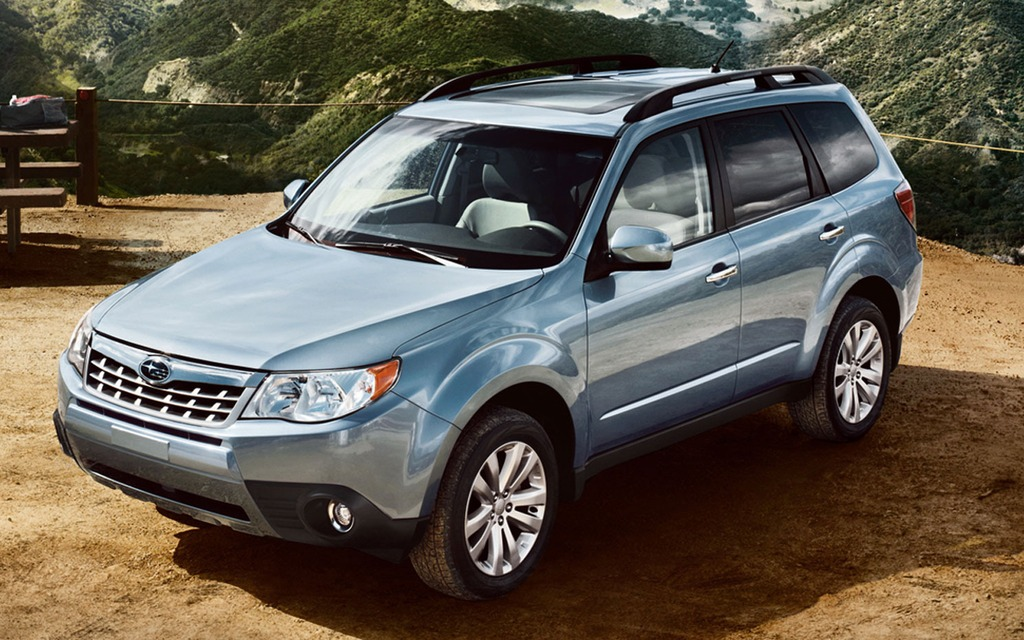 The Subaru Forester is one of the vehicles affected by the safety recall.
